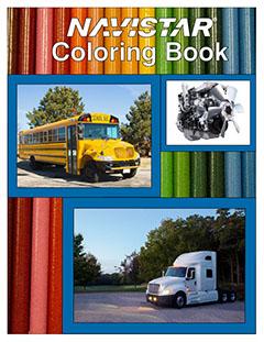 Navistar Coloring Book