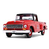 "Image of International C1100 Pickup Truck ""Parts & Service"" Die Cast 1:25 Scale"