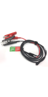 10' Battery Test Cable Set w/ HD Clamps