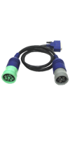 DPA5 Harness - Connects DPA5 to the Deutsch 9-pin or 6-pin truck connector (1meter)