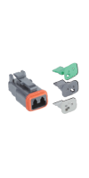 Connector, Replacement (6 Connectors plus 2ea of Locks A, B, C)