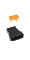 Connector, 12-Pin Replacement (2 Connectors, 2 Locks) (2PK)