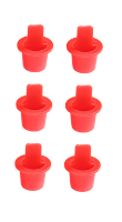 INJECTOR OIL INLET PLUGS (6)